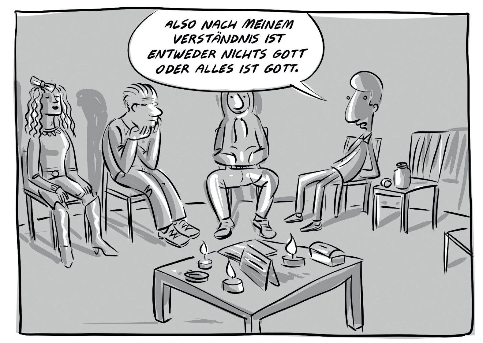 XES, Sexsucht, Comic