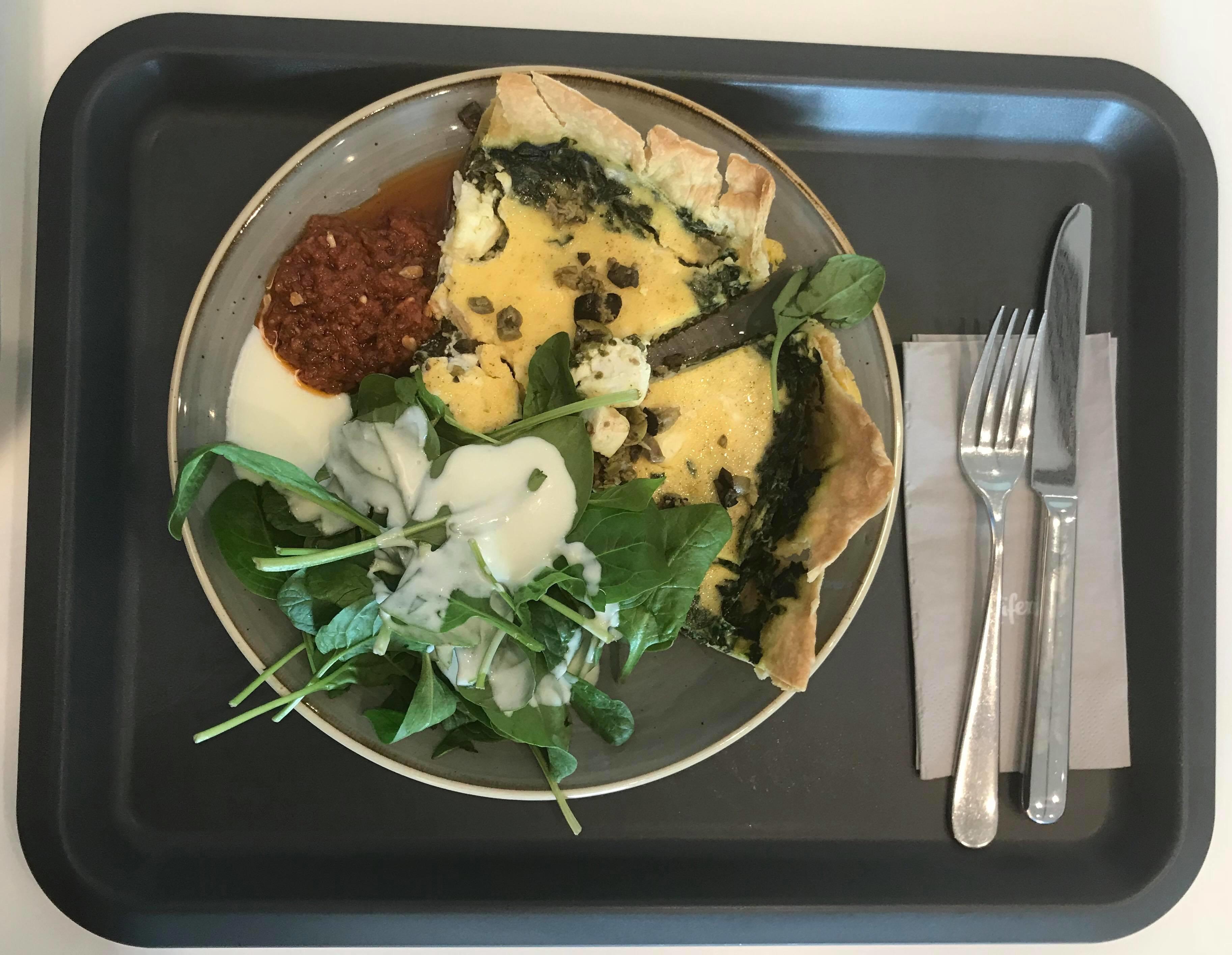 Vegetarisches Mittagsgericht