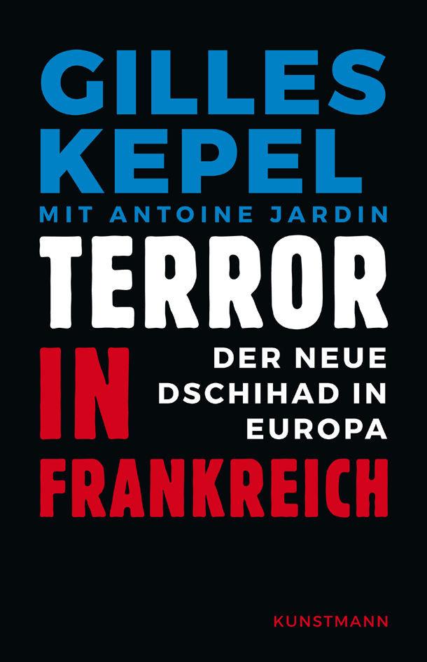 """Cover des Buches """"Terror in Frankreich"""" von Gilles Kepel"""