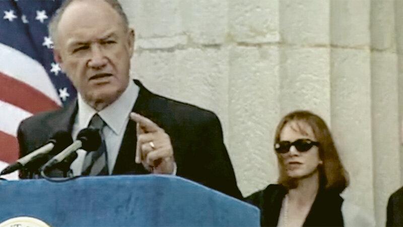"""Gene Hackman als Präsident Alan Richmond in """"Absolute Power"""" von 1997 (Columbia Pictures)"""