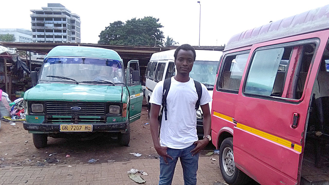 Agomo Atambire zurück in Ghana  (Foto: privat)
