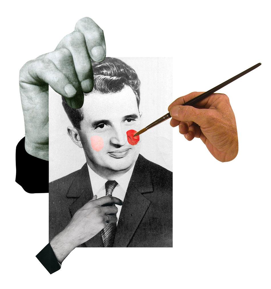 Der rumänische Diktator Nicolae Ceauşescu