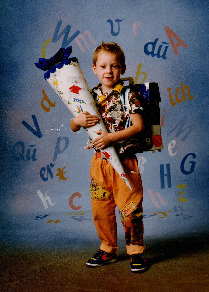 Einschulung 1991