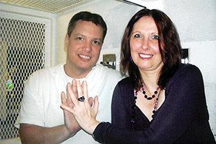 Petra Herrmann und Charles Thompson (Foto: privat)