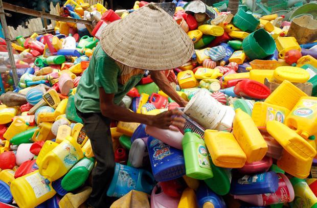 """Die """"Plastifizierung"""" eines Landes ist auch eine Explosion der Farben (Foto: HAM/REUTERS/corbis )"""