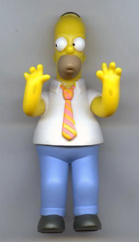 Fast meint man, Homer die Strapazen anzusehen: Vom Fließband bis zum Regal war es eine halbe Weltreise (Michael Wolf)