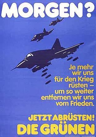 1980 lief das Wettrüsten der USA und der UdSSR noch auf vollen Touren – entsprechend groß war die Angst vor Krieg