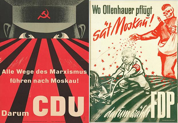 In den 50er Jahren das große Thema: die Angst vor den Sowjets