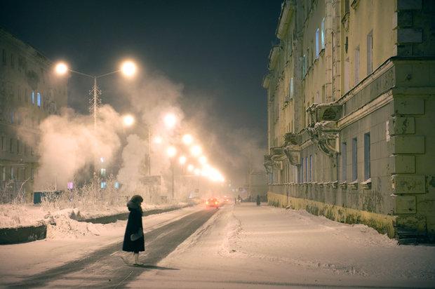 """""""Der Mensch ist etwas, das überwunden werden soll"""": In Norilsk zitiert mancher gern Nietzsche, um sich das unwirtliche Leben auf philosophische Art erträglicher zu machen  (Foto: Elena Chernyshova)"""
