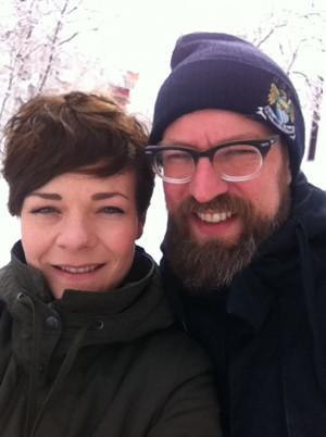 Auf der Flucht vor dem Frühling in Deutschland: Oda und Sven zog es ins kalte Sibirien