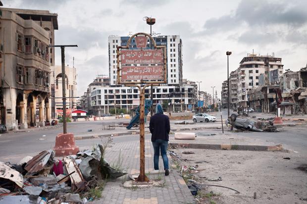 Homs im Zentrum Syriens hat der Bürgerkrieg hart getroffen. Große Teile der Stadt sind zerstört (Foto: Olga Kravets / laif)