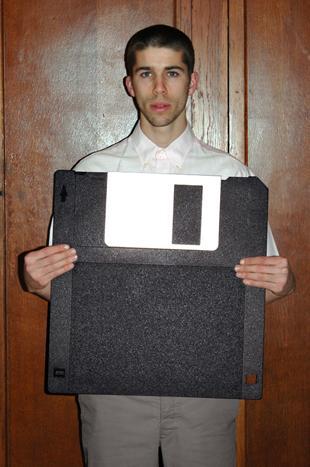 Old School-Speichermedium: Lange vor den Zeiten von Big Data, Ende der 1960er Jahre, wurde die Diskette erfunden (Thomas Mailaender)