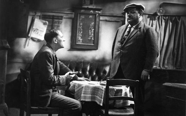 """Szene aus der Verfilmung von """"Berlin - Alexanderplatz"""" aus dem Jahr 1931, mit Heinrich George als Franz Biberkopf (rechts) (Foto: © ullsteinbild)"""