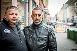 Abdulla Özkan und Atilla Özer (Foto: Heike Fischer)