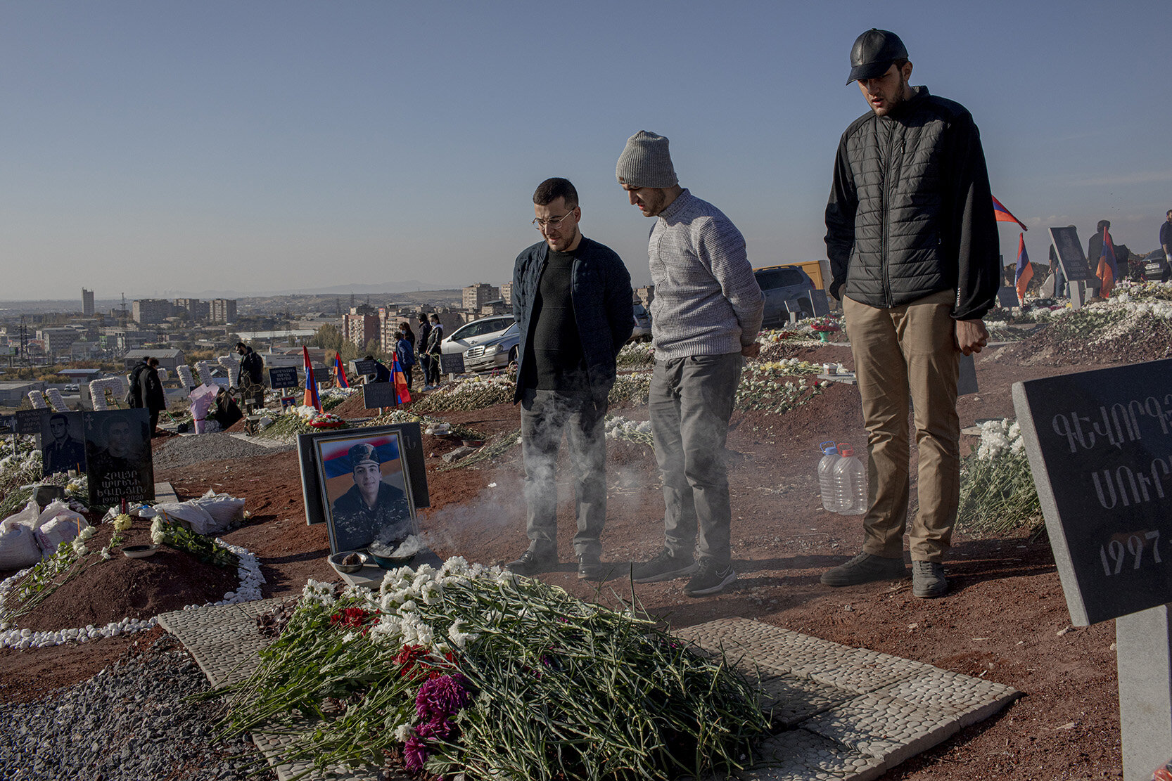 Armenien, Bergkarabach, Krieg, Soldaten