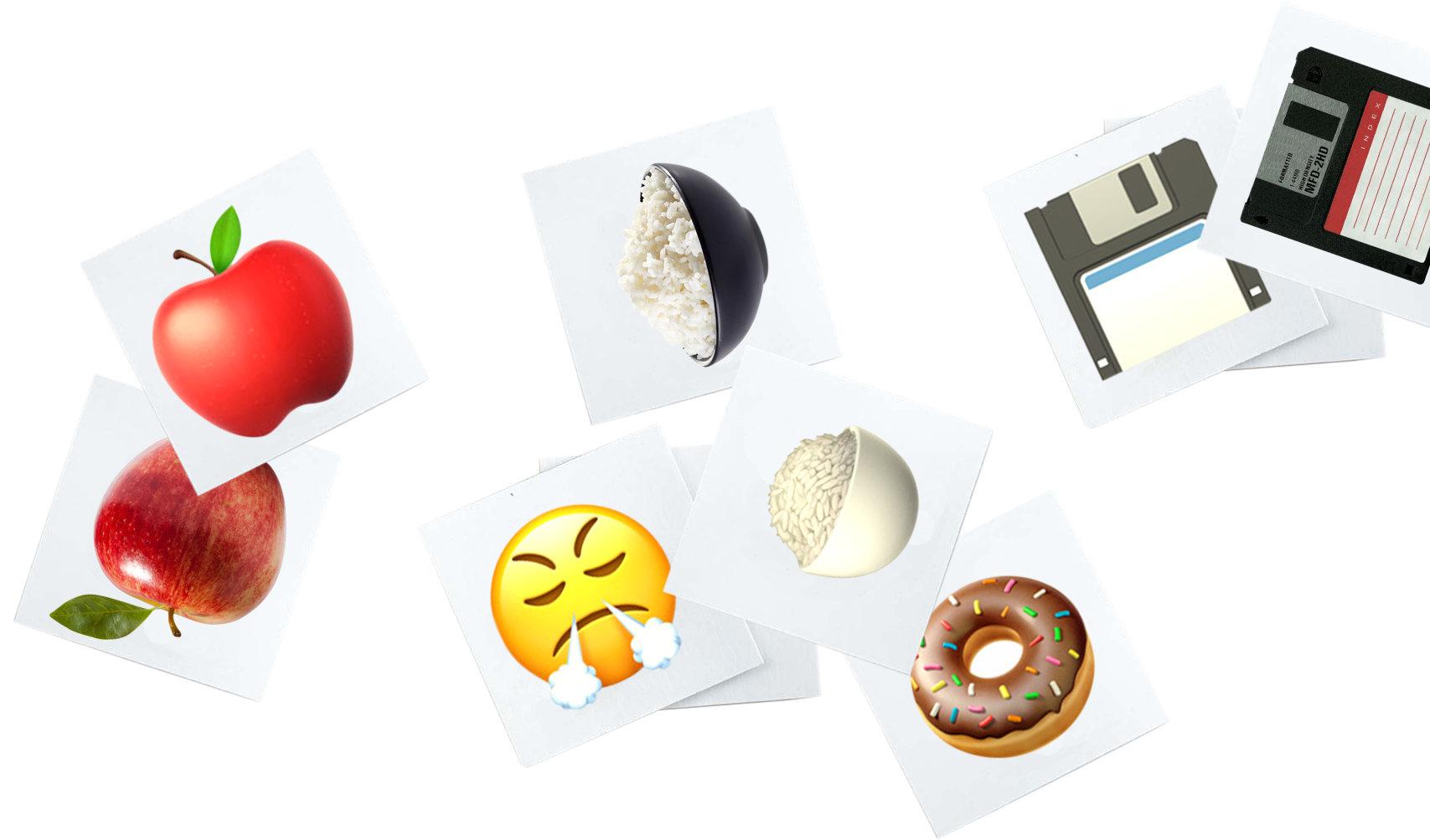 Memory mit Emojis