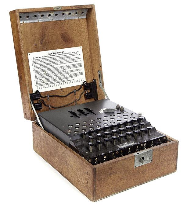 Enigma Maschine aus dem Jahr 1944 (Foto: picture-alliance / dpa)