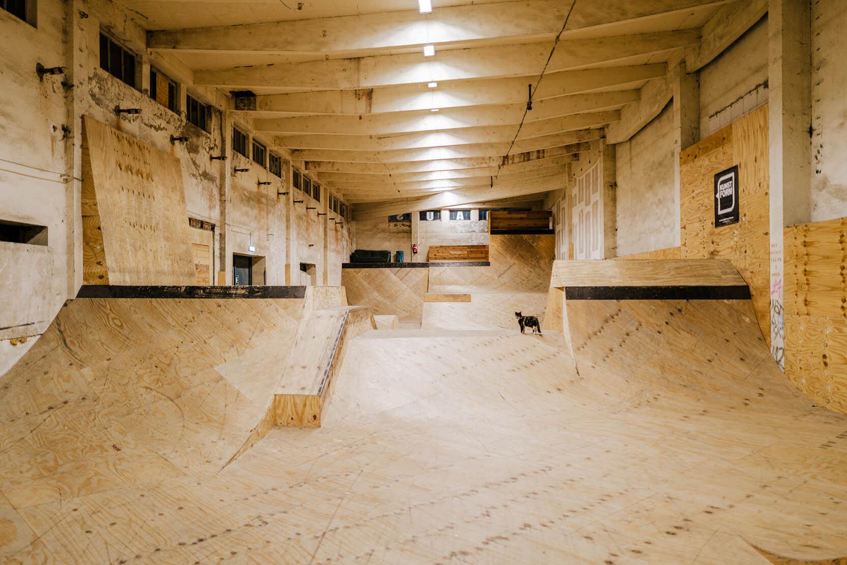 Skatehalle, Kühlhaus, Görlitz