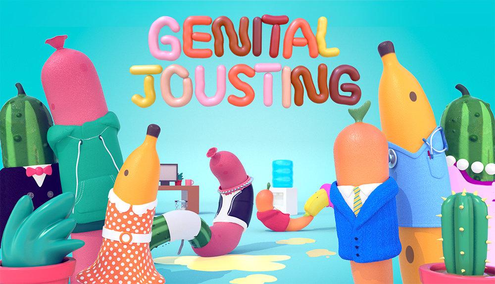 Genital Jousting (2018) Developer: Free Lives (Screenshot: Free Lives)