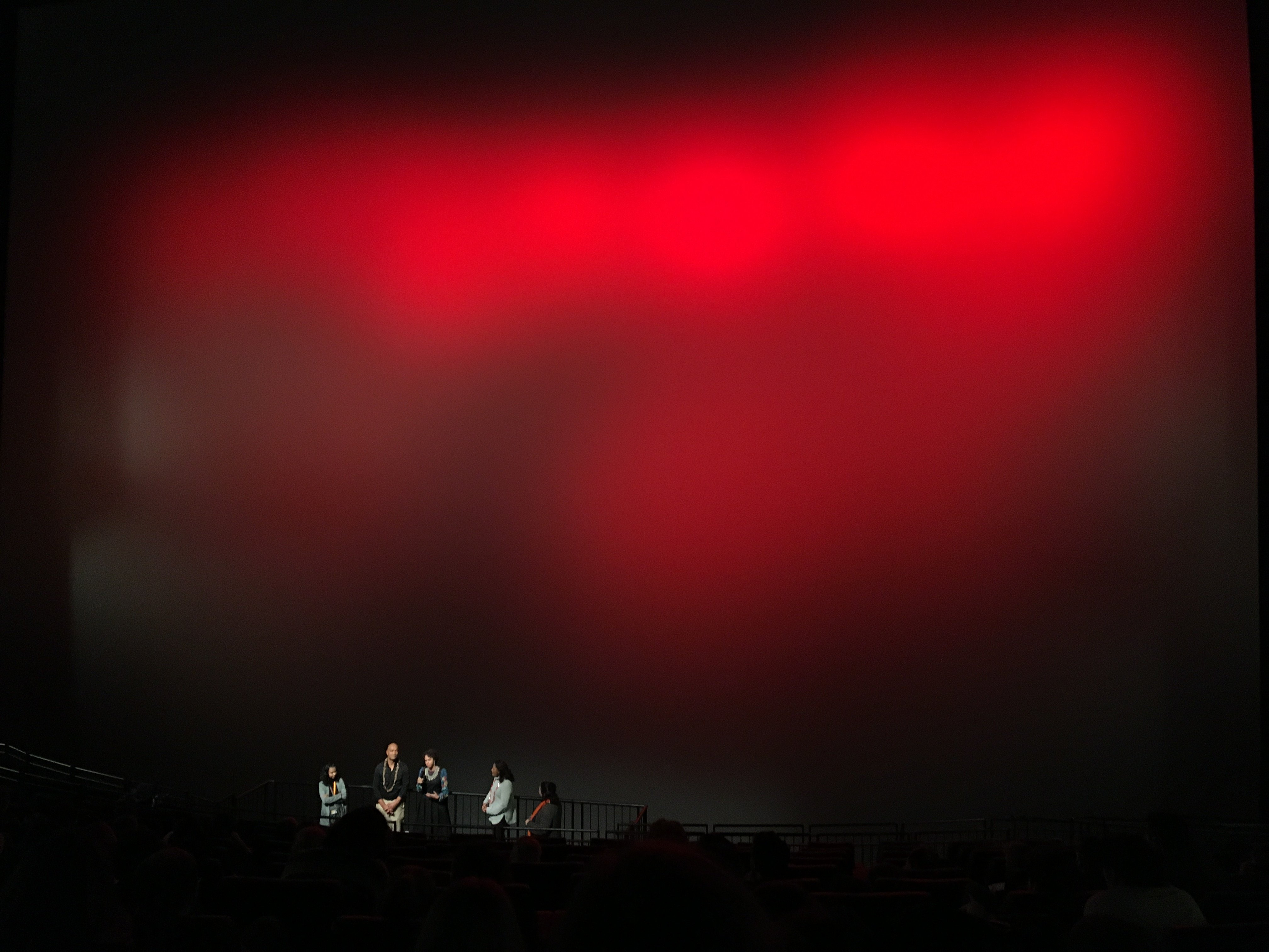 Leinwand des IMAX (Foto: Michael Brake)