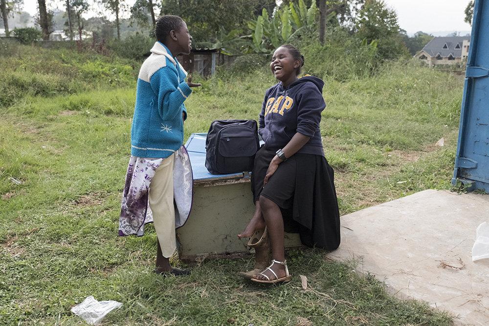 Joy Ntinyari und Purity