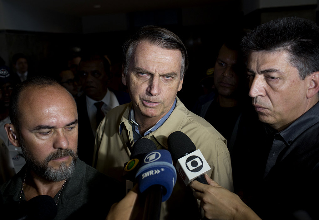 Jair Bolsonaro (Foto: Silvia Izquierdo / picture alliance / AP Photo)