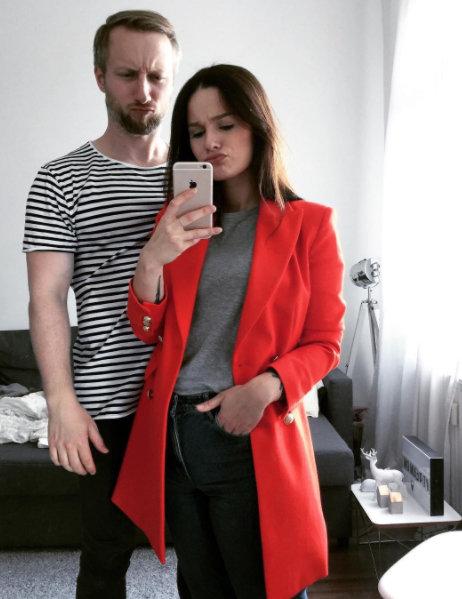 Die Instagrammerin Jana Hofman und ihr Freund