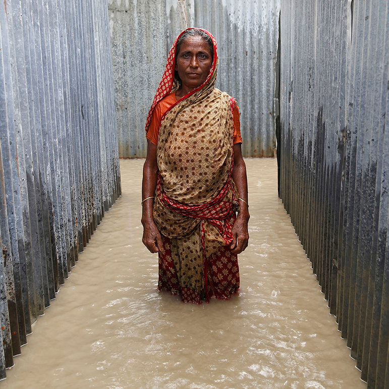 Johora, Chandanbaisa Village, Sariakandi Upazila, Bogra District, Bangladesh, September 2015