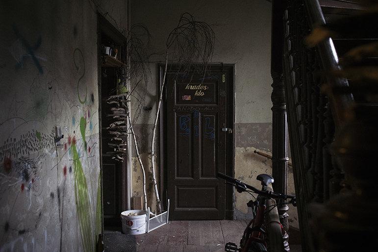 Etagenklo im Wächterhaus