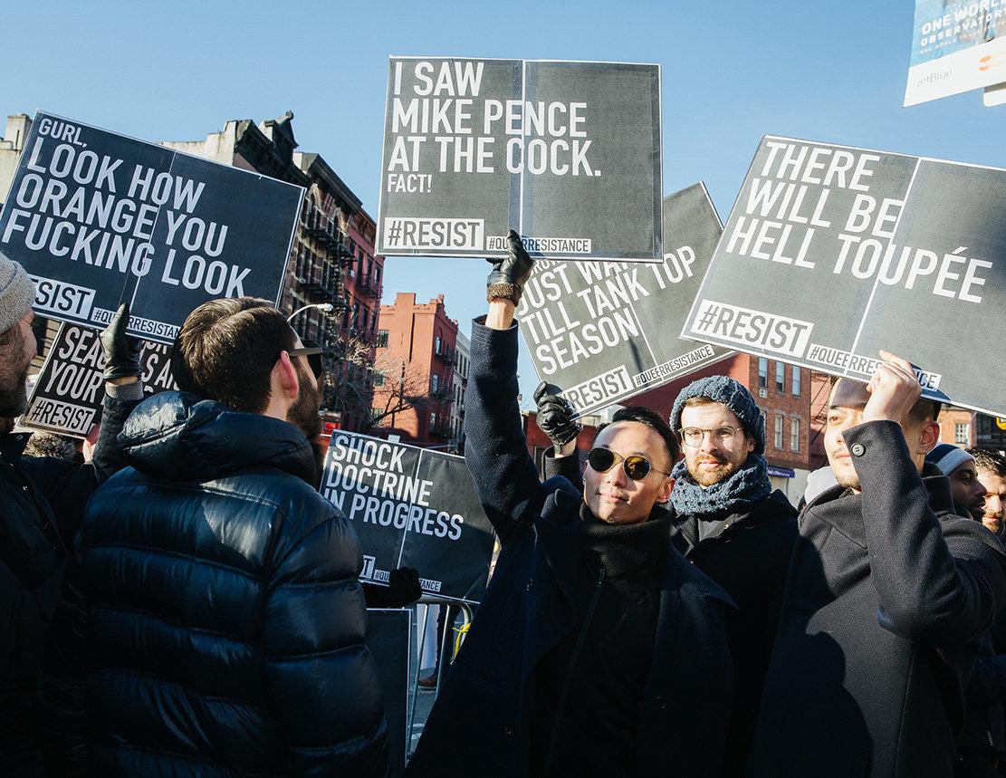 LGBTQ Anti Trump Protest (Foto: Rachel Kober)