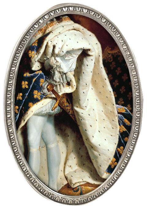 Ludwig XIV. , Mantel, Hose