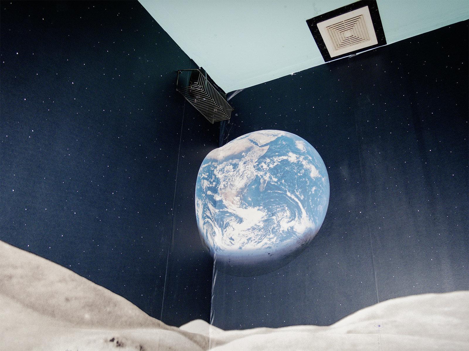 Weltraumtapete (Foto: Maury Gortemiller) (Maury Gortemiller)