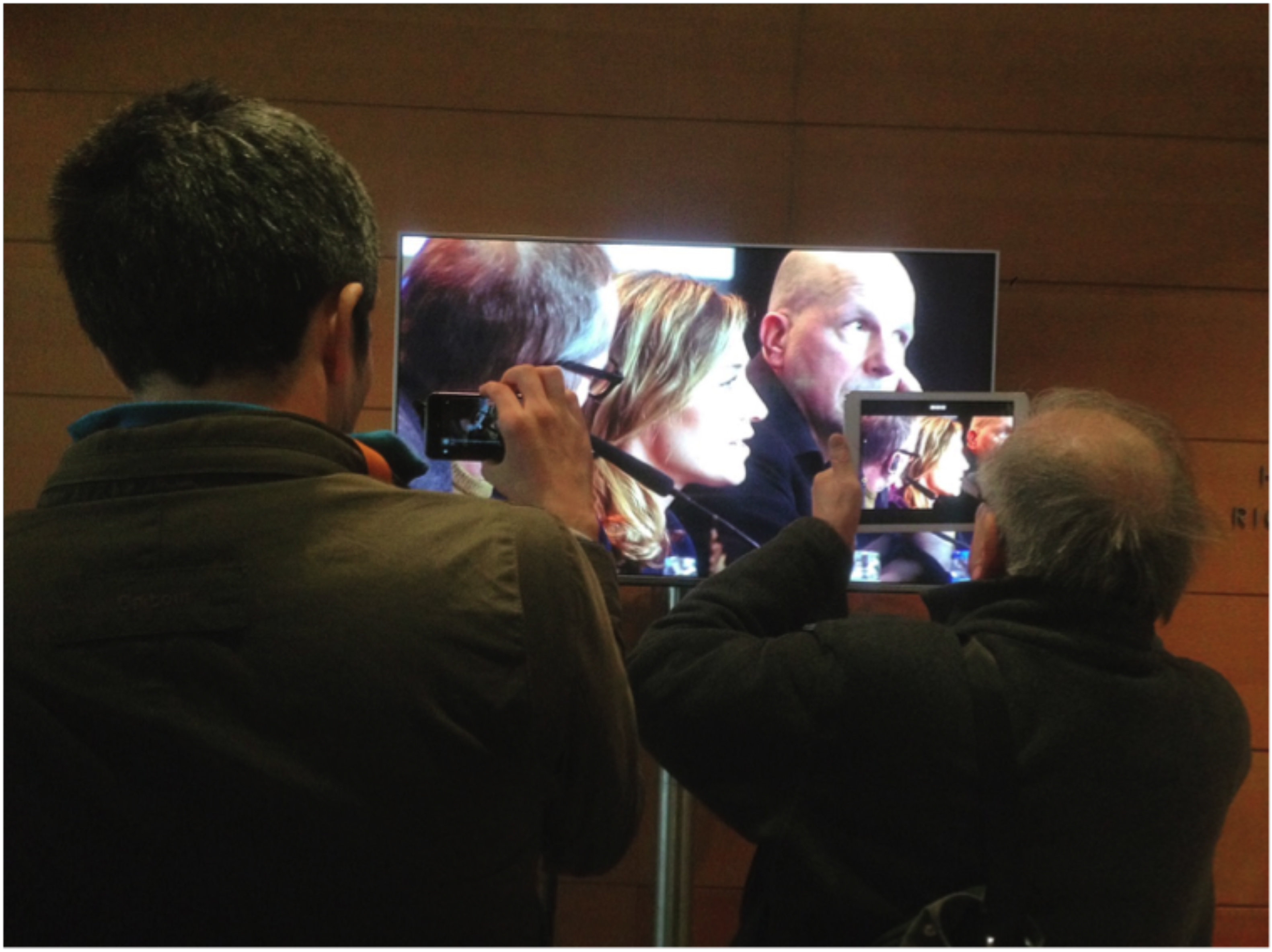 Zwei Journalisten auf der Berlinale