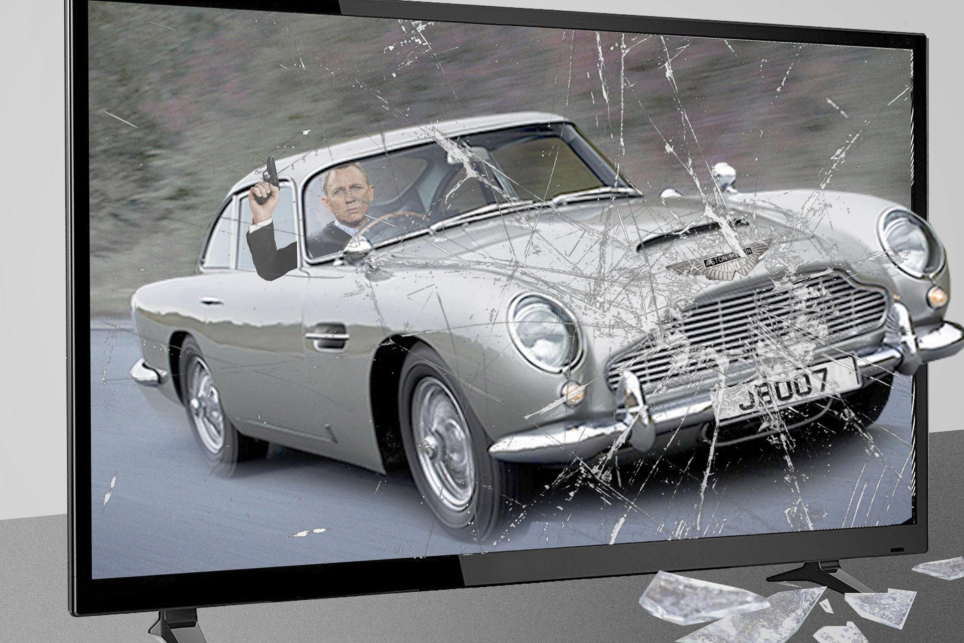 Produktplatzierung im Film James Bond (Collage: Renke Brandt)