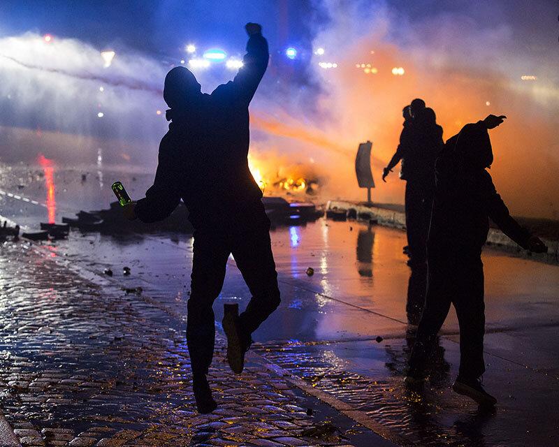 Rechtsextremistische Straftaten haben in den vergangenen Jahren stark zugenommen.  (Foto: Ralph Goldmann/picture alliance)
