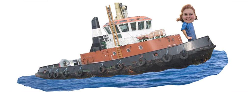 Russland, Berufe, Frauen, Schiffsmechanikerin