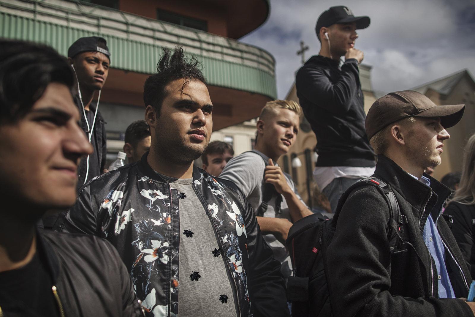 Wahlkampf in Schweden
