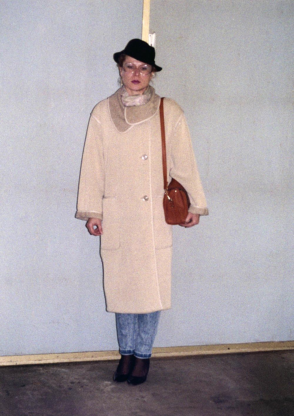 Verkleidete Stasimitarbeiterin