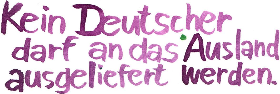 Grundgesetz (Illustration: Jindrich Novotny)