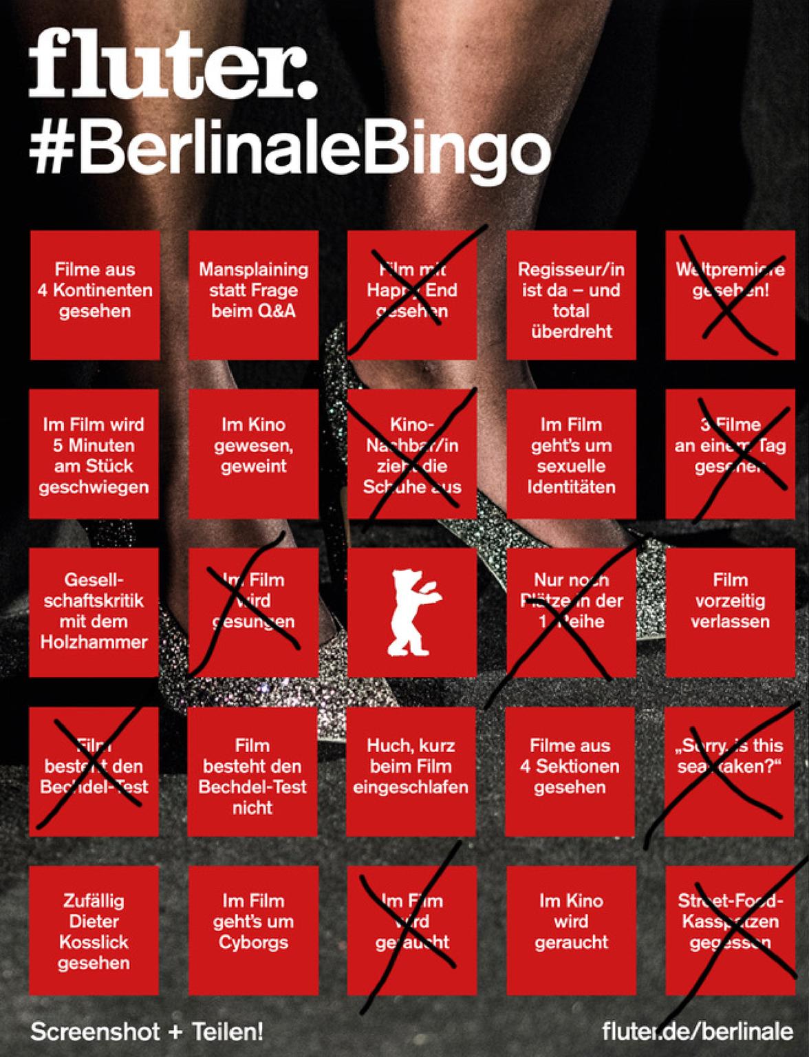 Berlinale-Bingo