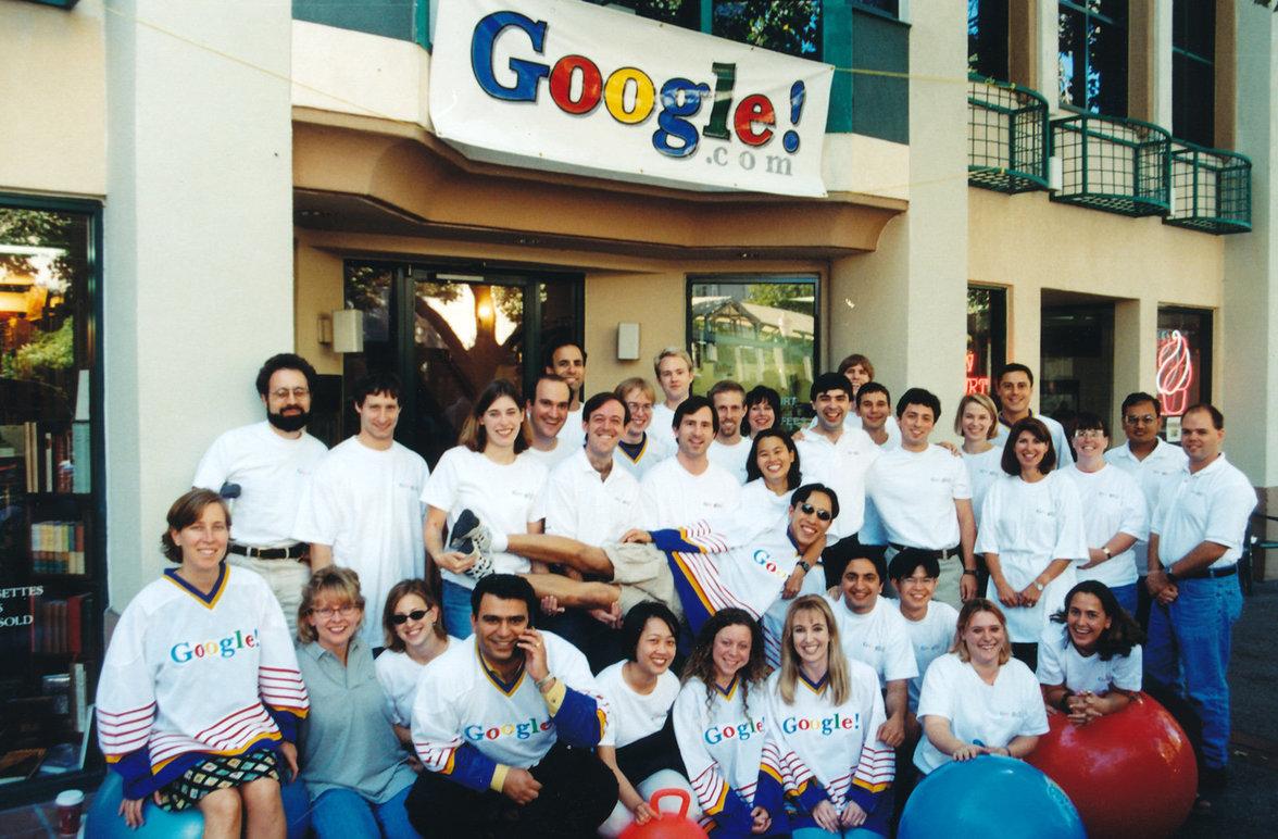 Frühes Google Team