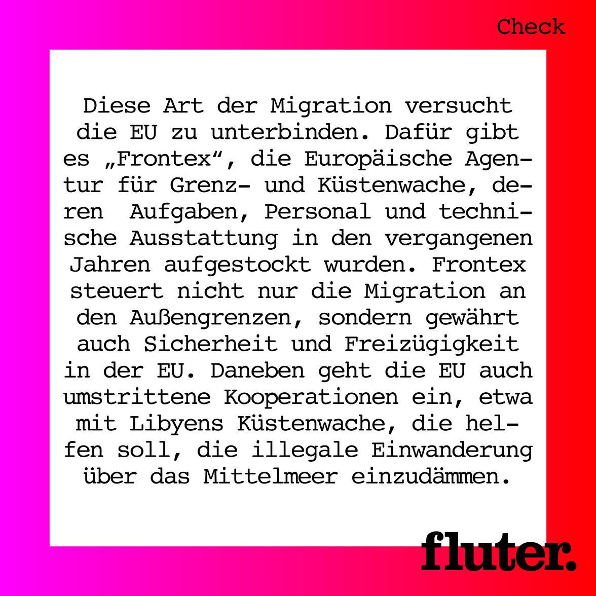Wie schützt die EU ihre Außengrenzen? –Faktencheck