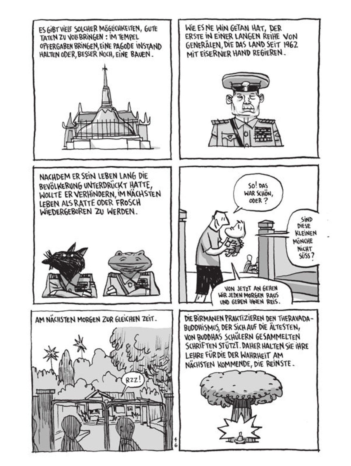 """""""Aufzeichnungen aus Birma"""""""