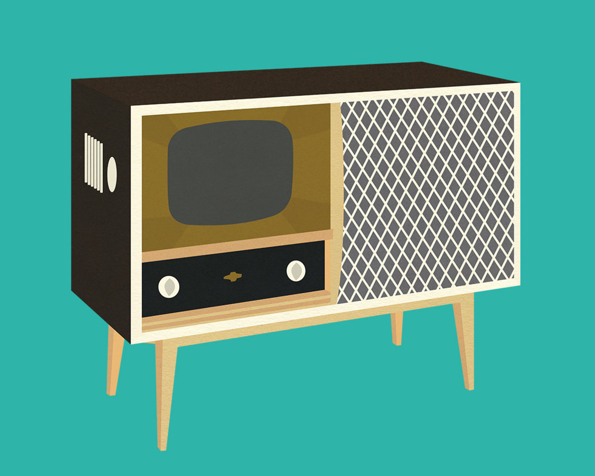 Fernsehtruhe