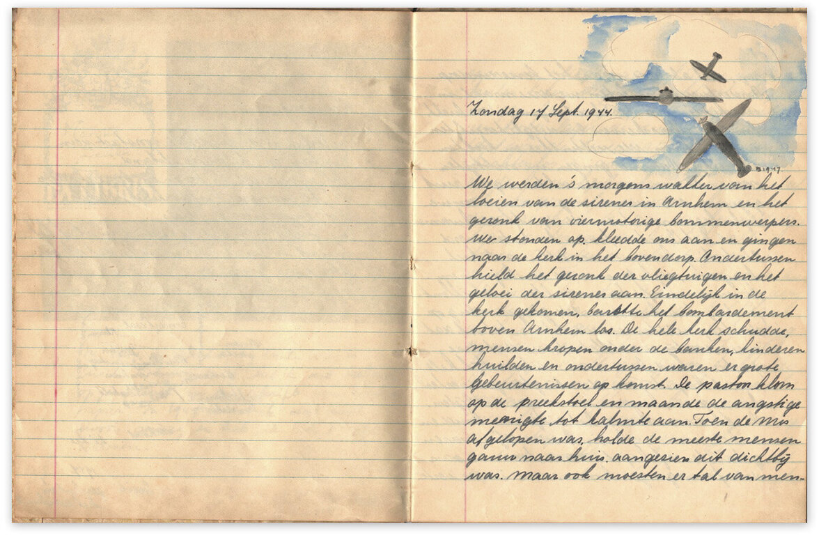 Tagebuch der 11-jährigen Marijke  E. van Seelen