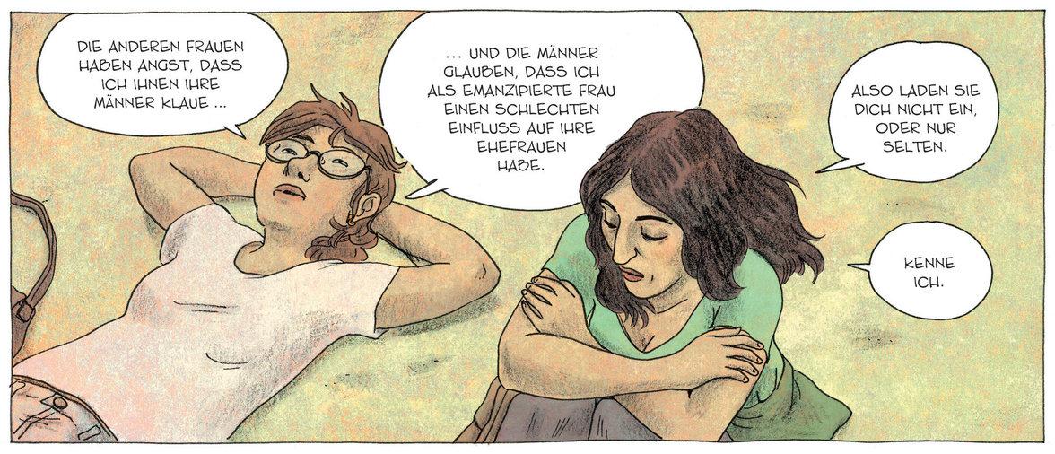 Hand aufs Herz ( Illustration: Laetitia Coryn, Avant Verlag)