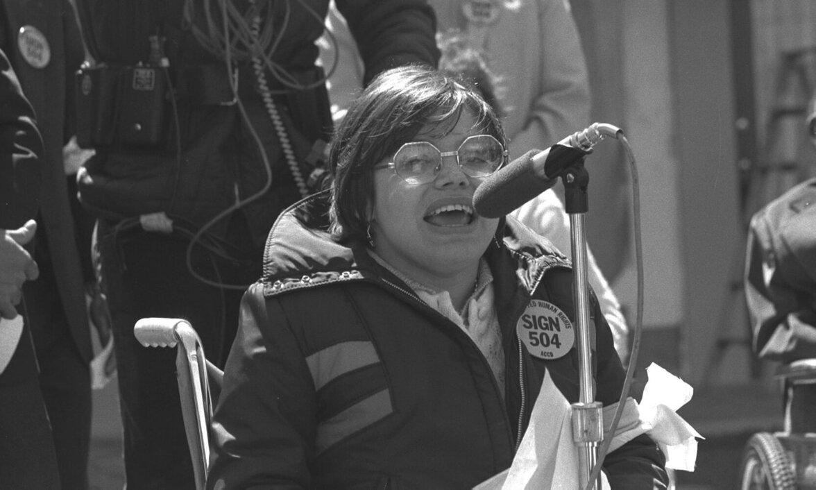Judy Heumann im Crip Camp (Foto: HolLynn D´Lil / Netflix)