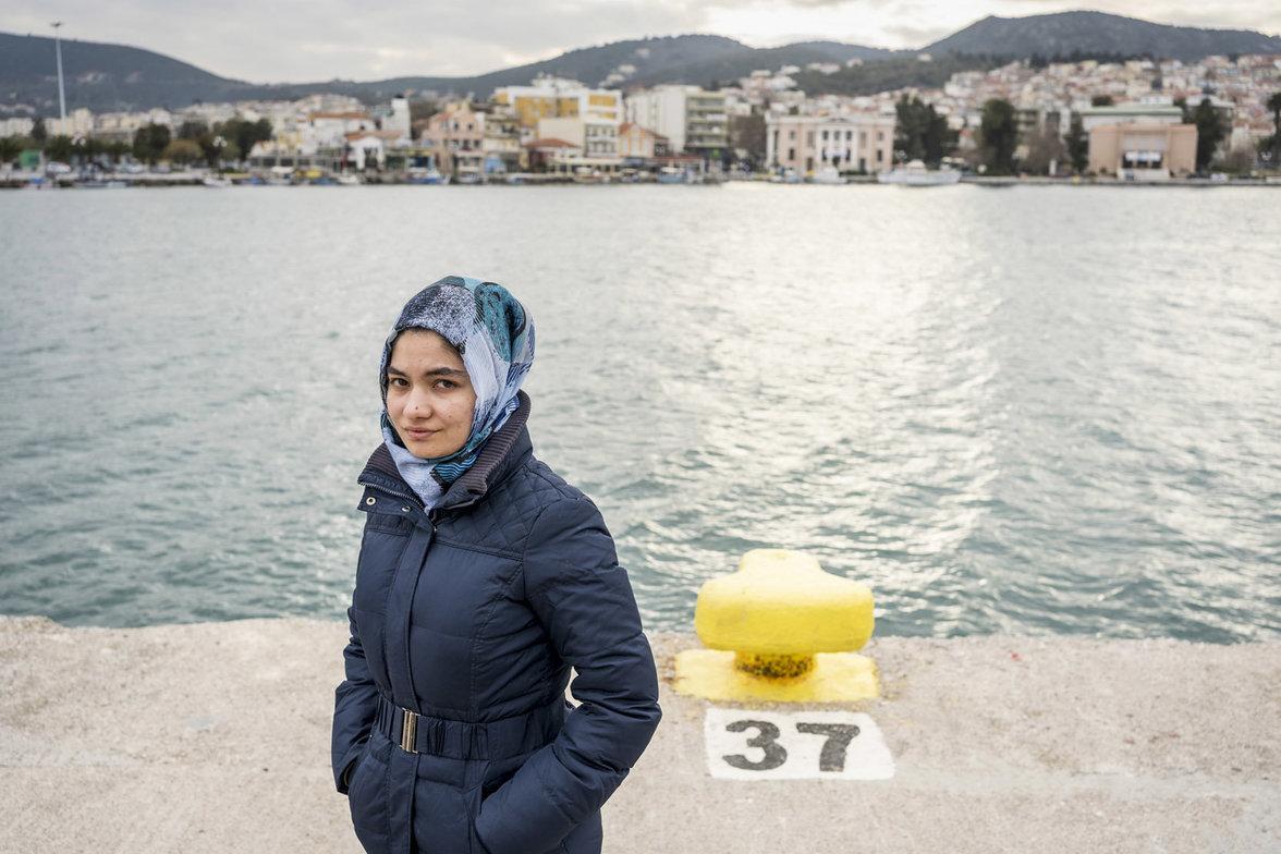 Lesbos, Moria, Flucht