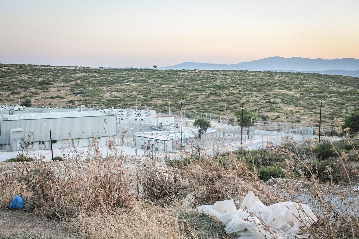 Samos, Flüchtlinge, Lager (Foto: Ann Esswein)