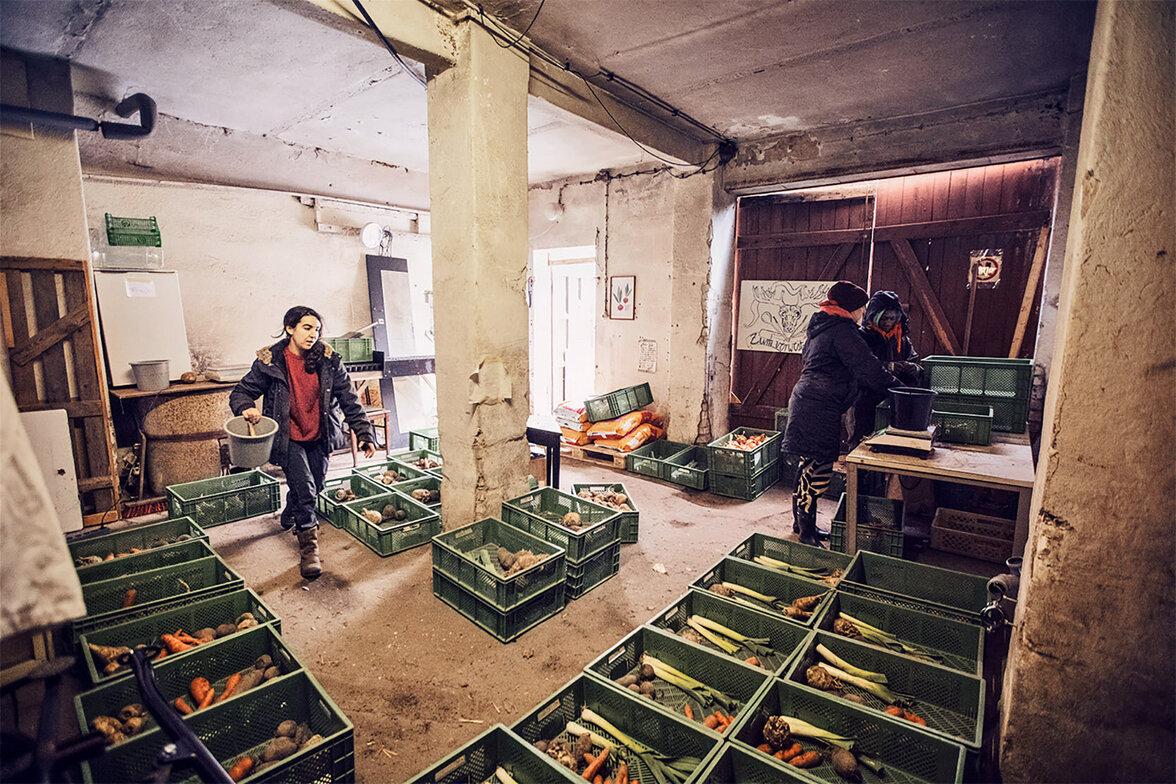 Gemüselager